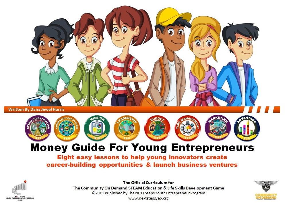 Money Guide for Young Entrepreneurs Activity Workbook