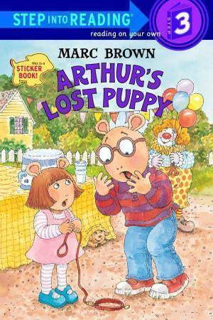 Arthur's Lost Puppy (Sticker Book)