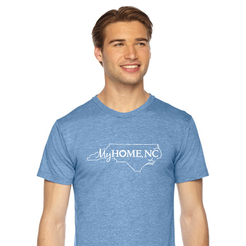 Blue My Home North Carolina T-Shirt