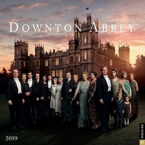 Downton Abbey 2019 Wall Calendar