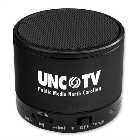 A UNC-TV Logo Bluetooth Speaker
