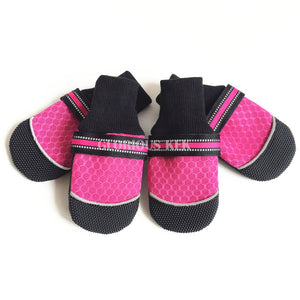 Chaussures pour grand chien - Protection - Rose