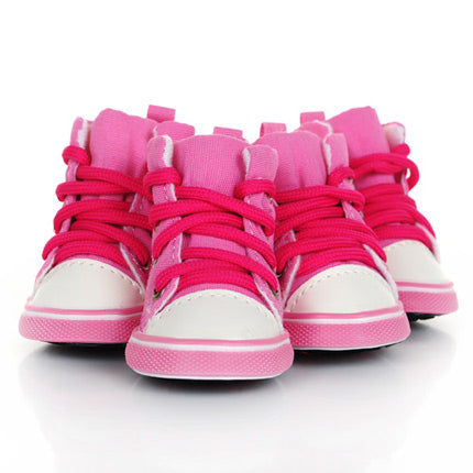 Chaussures pour chien - Sneakers - Rose