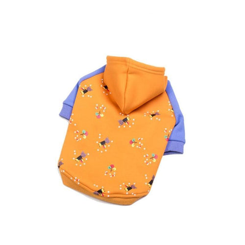 Sweat Capuche pour chien - Light - Orange