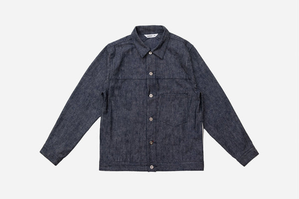 Type 1s Jacket Indigo/White 5x5 Denim