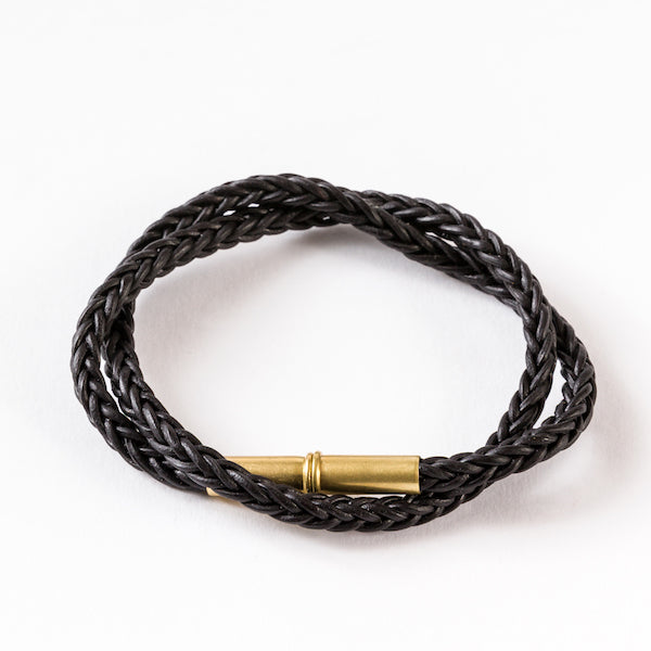 Flint Braided Bracelet Black