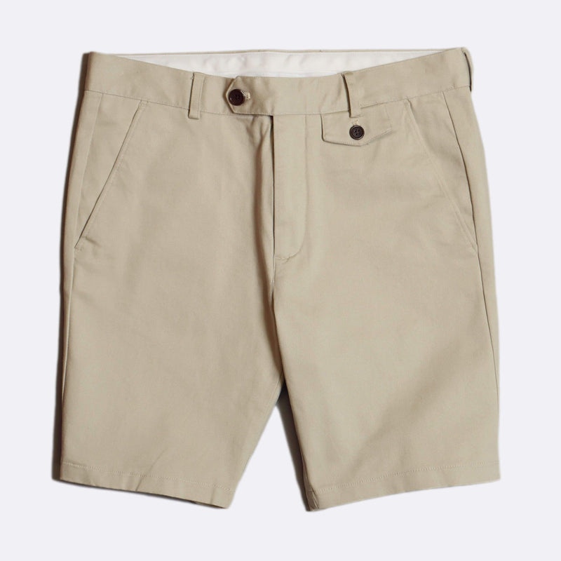 Tricker Shorts Pumice Stone Cotton Twill