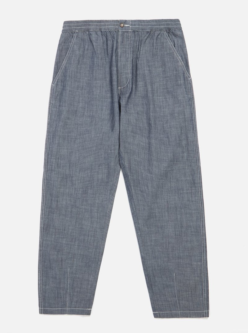 Track Trouser in Chambray
