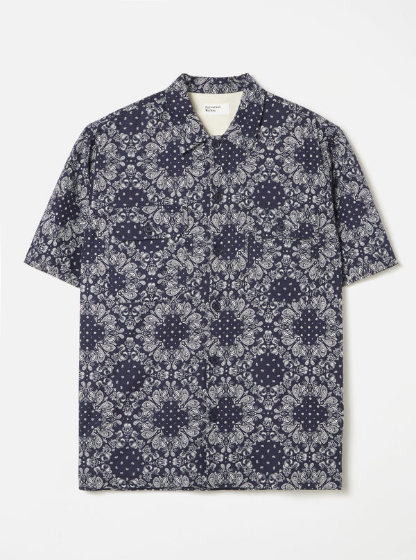 Utility SS Shirt in Bandana Cotton