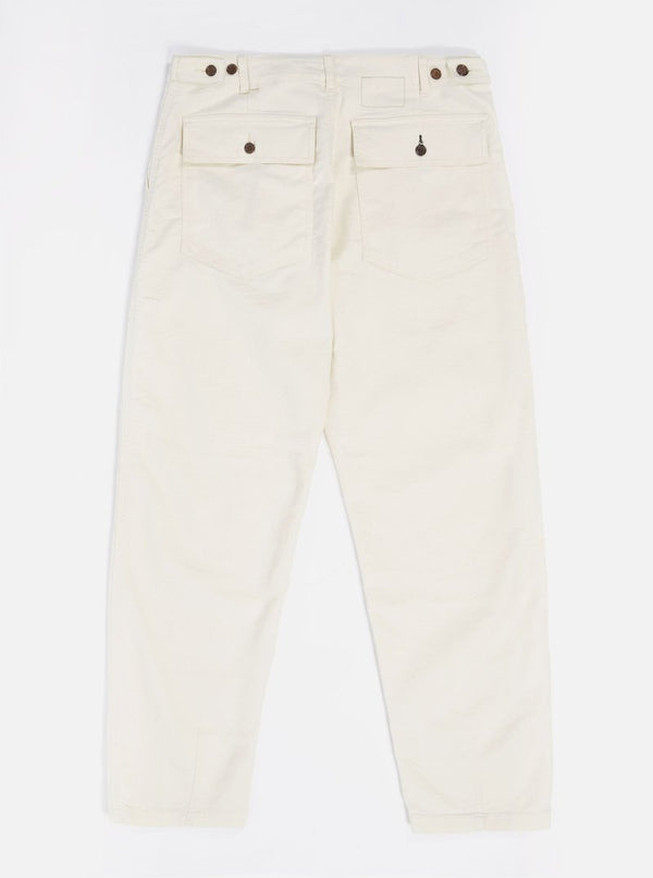 Fatigue Pant in Ecru Natural Twill