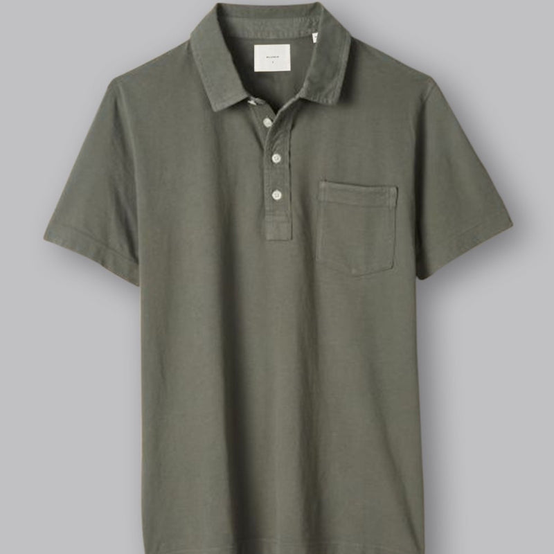 Pensacola Polo Washed Grey