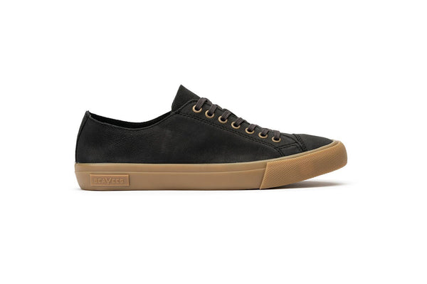 Army Issue Low Burnished Leather Sneakers