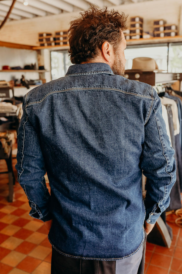 Modern Western 11 oz Washed Denim