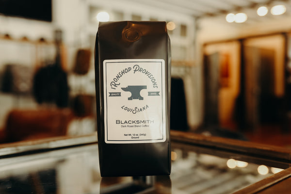 Blacksmith Dark Roast Blend Coffee 12 oz.