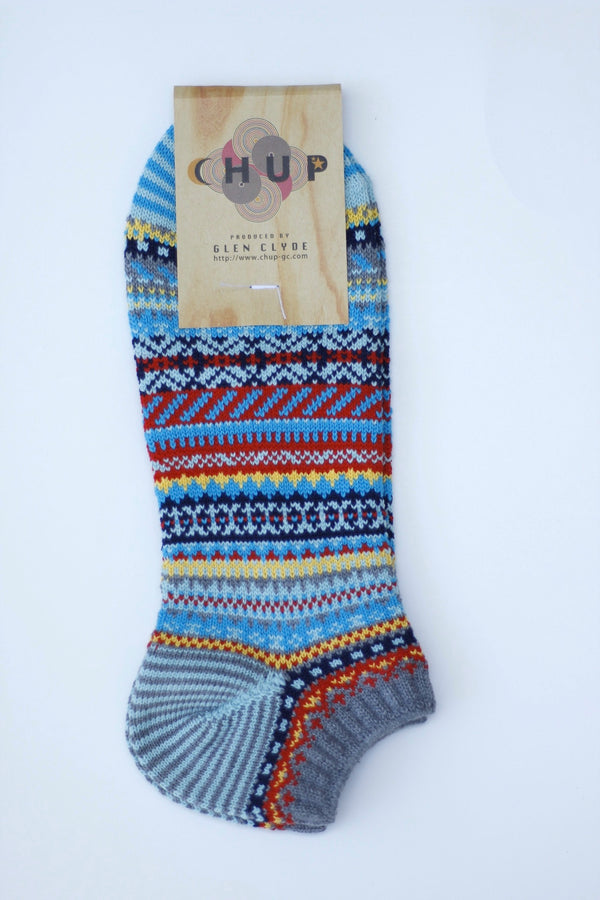 Kesa Chup Sock Coin Grey