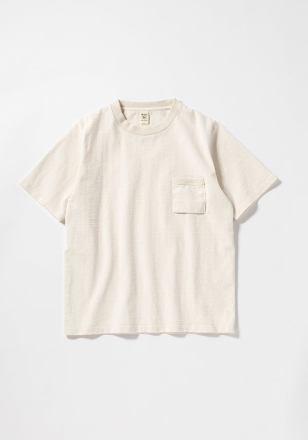 Dotsume Kinari Ring Spun high Density Pocket T-Shirt