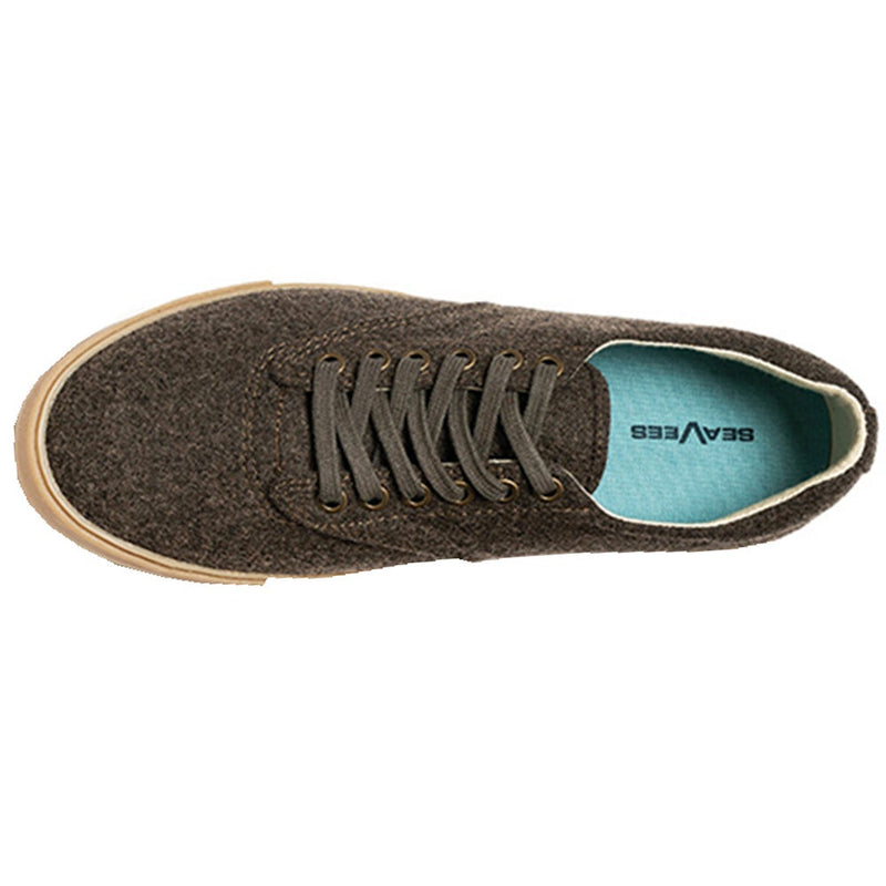 Hermosa Plimsoll Grayers Dark Earth Wool Flannel