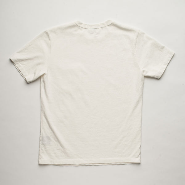 Vintage Wash Pocket t-shirt white