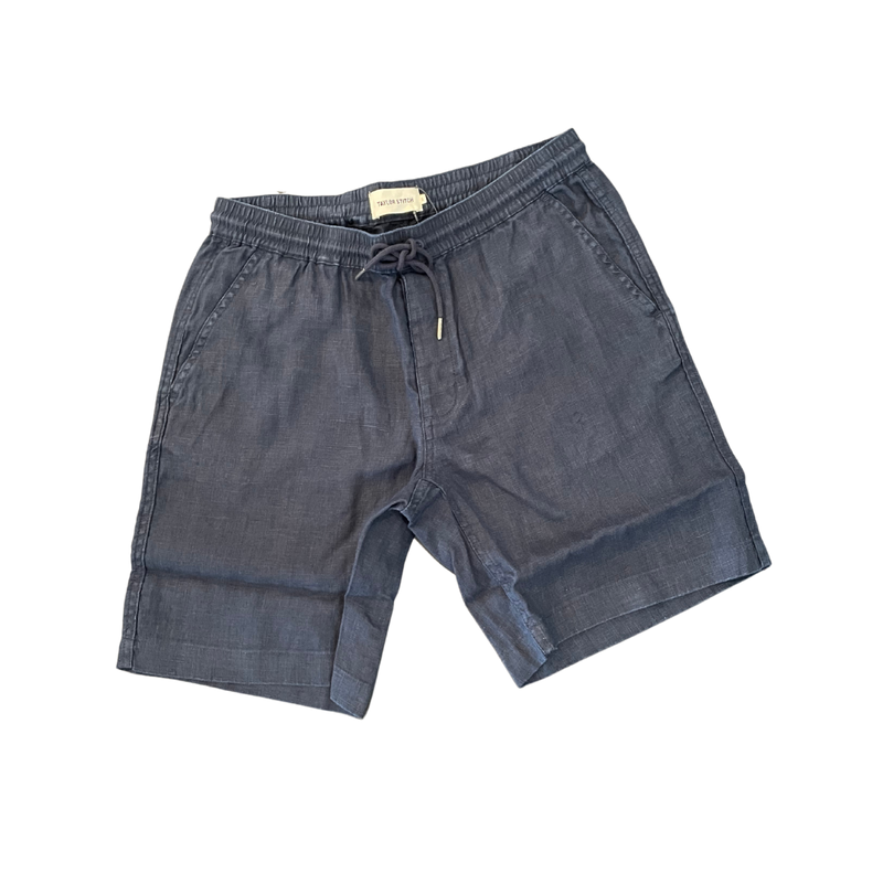 Apres Short in Navy Hemp