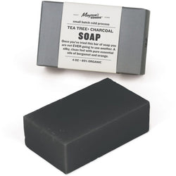 Tea Tree + Charcoal Soap