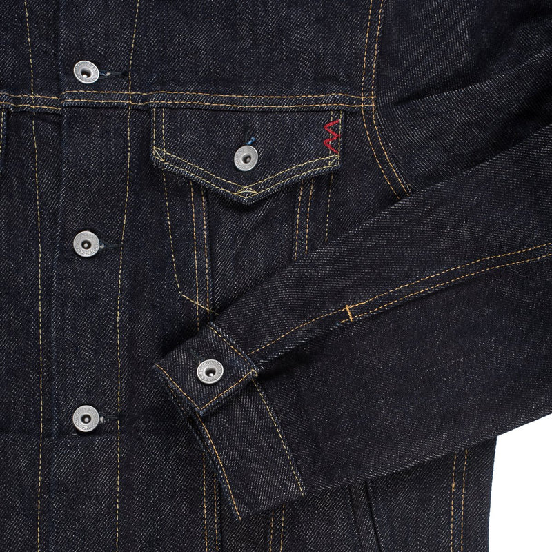 21oz Selvedge Denim modified Type III Jacket Indigo  (IH-526PJ)