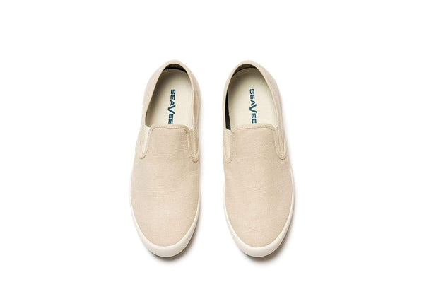 Baja Slip On Standard Natural Linen