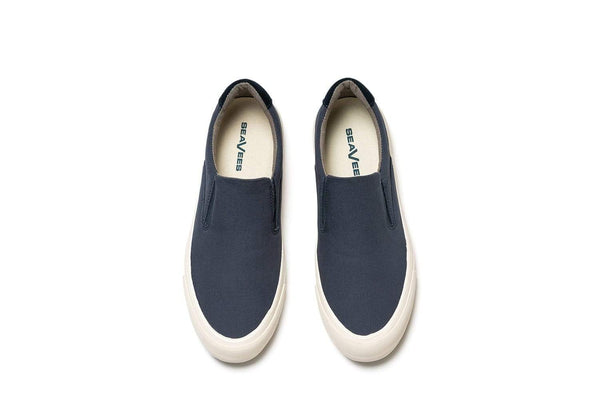 Hawthorne Slip On Standard true navy poplin