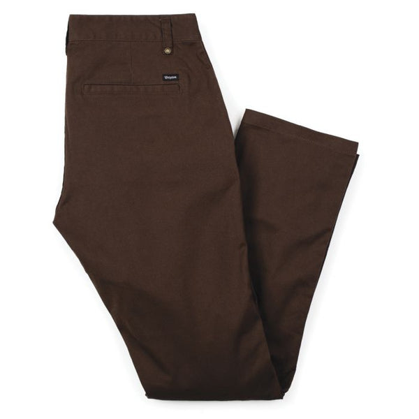 Reserve Chino Pant - Brown
