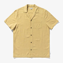 BRIGHTON S/S SHIRT - LIGHT LEMON