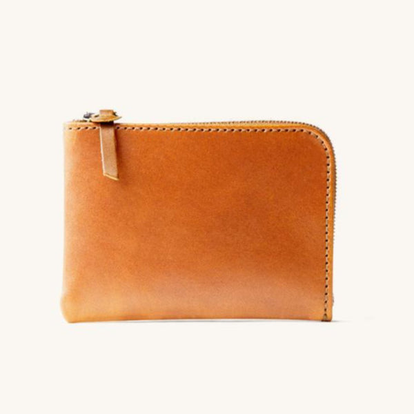 Universal Zip Wallet - Saddle Tan