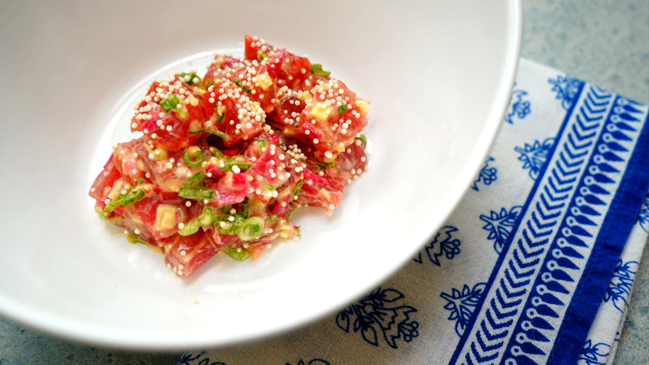 Yellowfin Tuna - Tartare - Harbour Trading