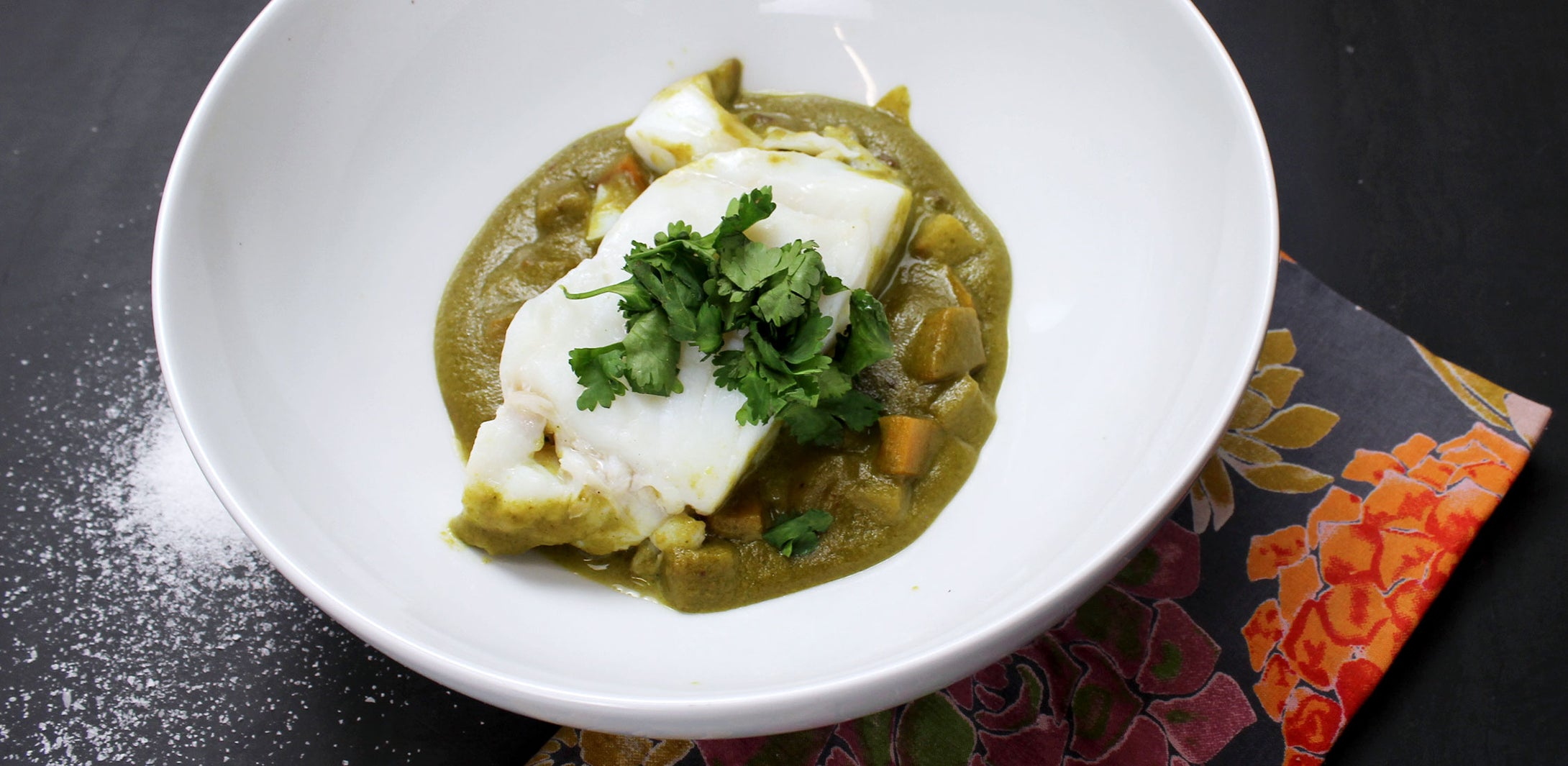 Cod - Green Curry