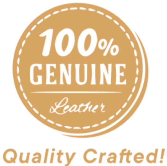 Genuine leather quality crafted