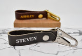 Personalized Keychain with Snap & Clip