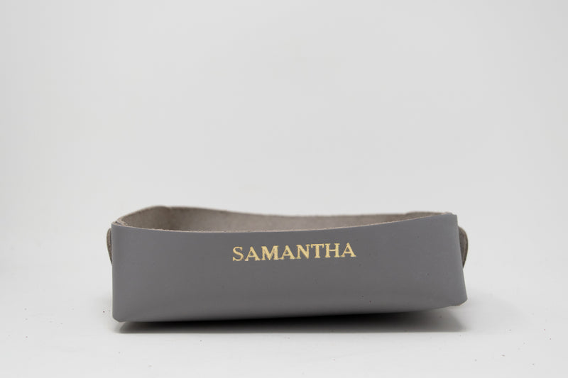 Personalized Folded Catchall Tray