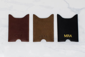 Personalized Card Sleeve