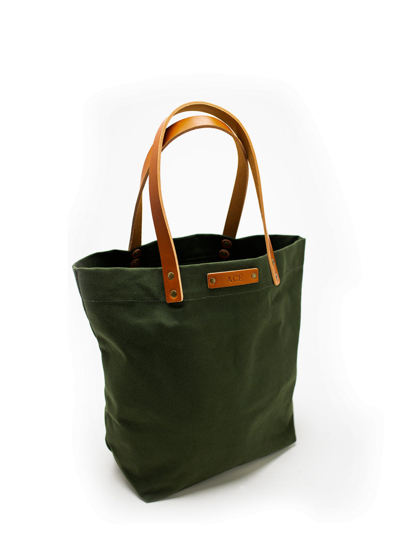 Personalized Canvas Market Tote