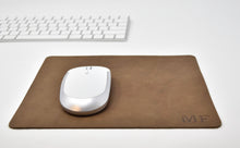 Load image into Gallery viewer, Personalized Leather Mousepad