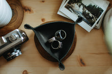 Load image into Gallery viewer, Personalized Leather Ring Tray