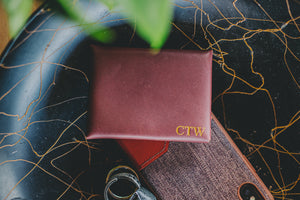 Personalized Leather Card Wallet