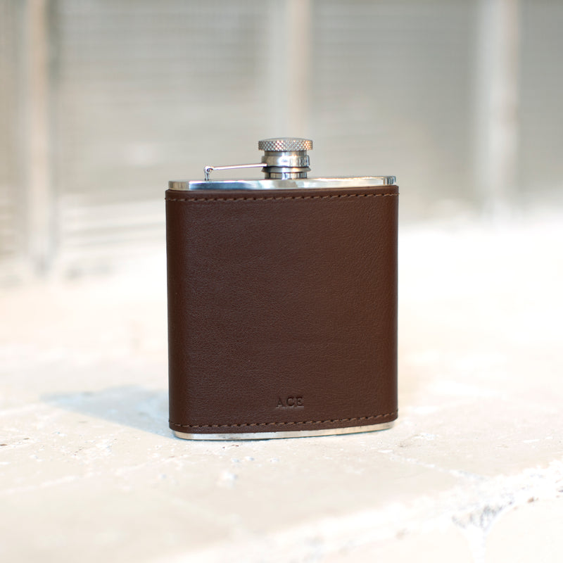 Modern Collection Wrapped Flask