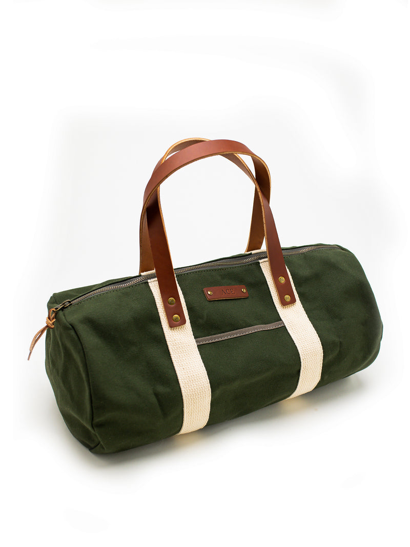 Personalized Canvas Overnight Duffel