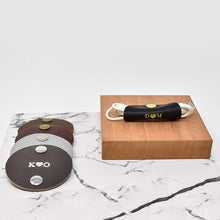Load image into Gallery viewer, Personalized Leather Cord Taco
