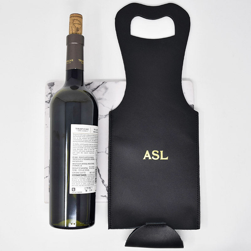 Personalized Wine Carrier