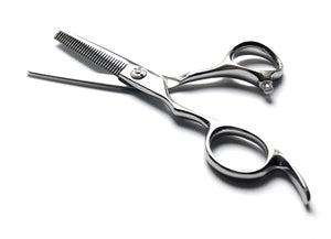 "Abbfabb Grooming Scissors Left Handed 5"" Blending Dog Grooming Scissor"
