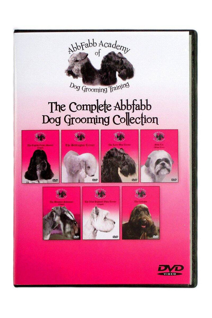 Abbfabb Academy of Dog Grooming Training Full DVD Set