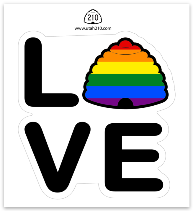Beehive Love Decal