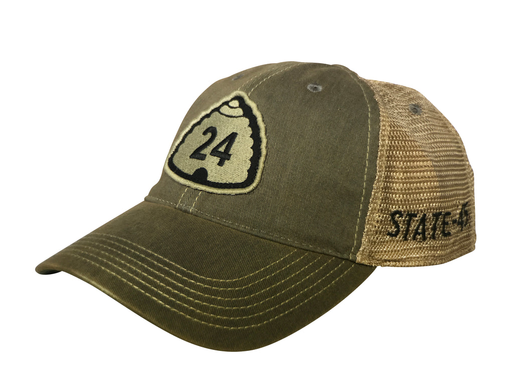 "U24 ""The Road to Capitol Reef"" Grey Trucker Hat"