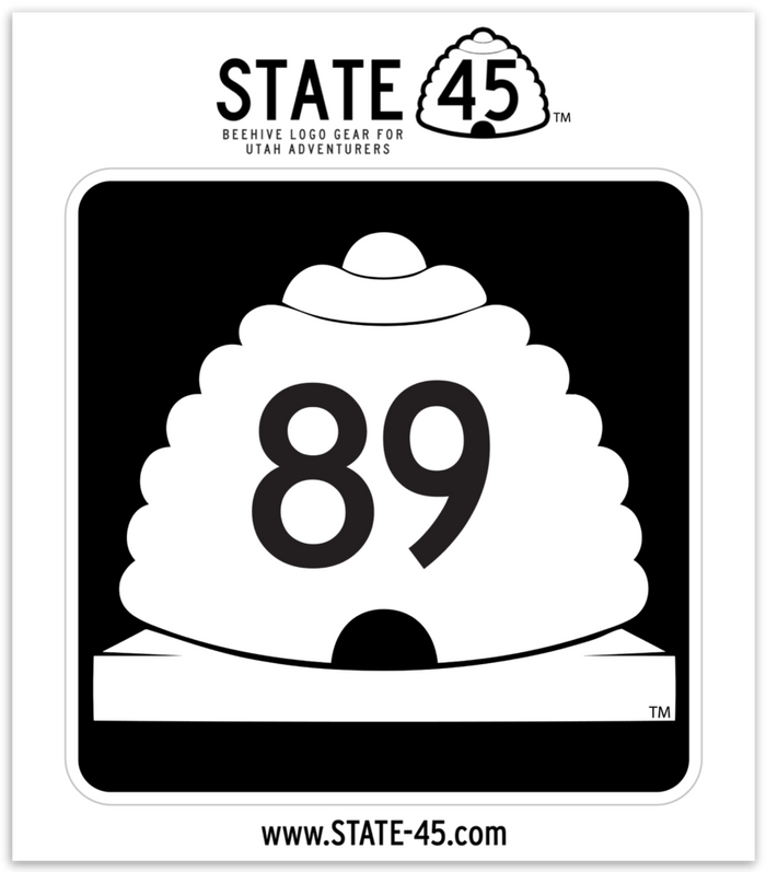 Highway 89 Sticker