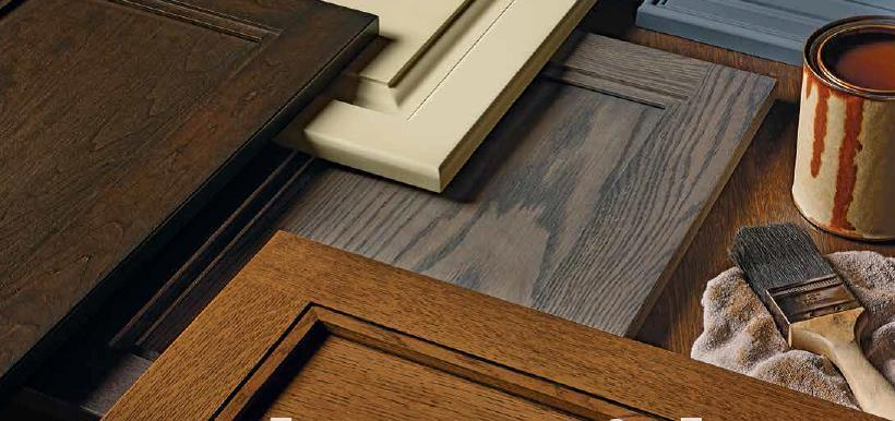 How To Finish Your Unfinished Cabinet Doors And Drawer Fronts